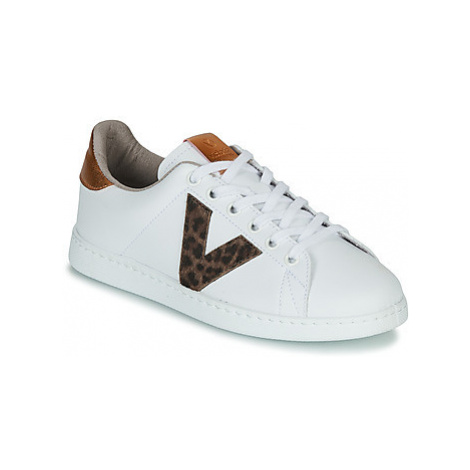 Victoria TENS PRINT women's Shoes (Trainers) in White