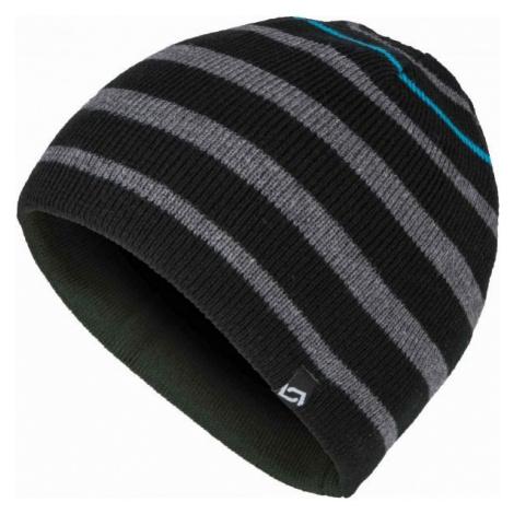 Lewro OLAFSON grey - Boys' knitted hat