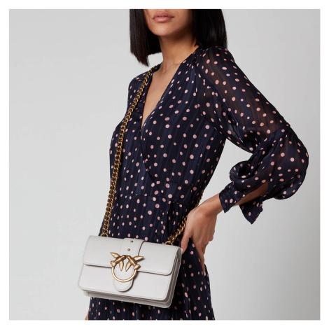 Pinko Women's Love Mini Icon Simply Bag - White