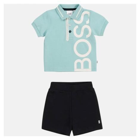 Hugo Boss Baby Boys' Polo Shirt & Bermuda Shorts Set