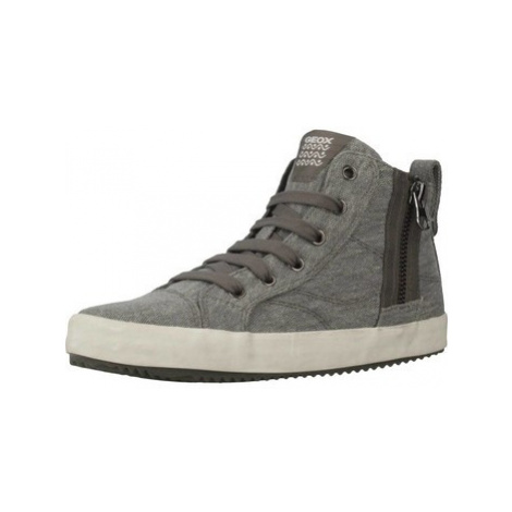 Geox J ALONISSO B. B boys's Children's Shoes (High-top Trainers) in Grey