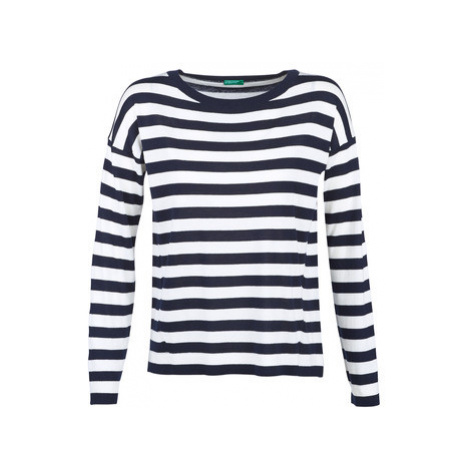 Benetton TYRA women's Sweater in White United Colors of Benetton