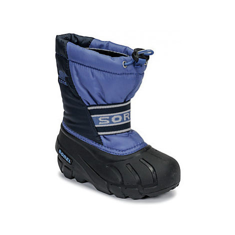 Sorel CHILDRENS CUB girls's Children's Snow boots in Blue