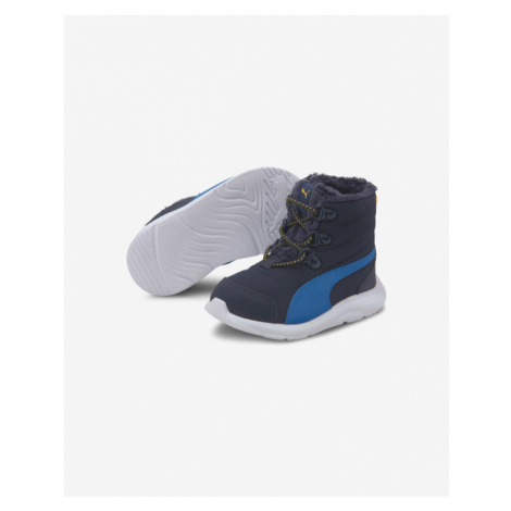 Puma Fun Racer Boot AC PS Kids Ankle boots Blue