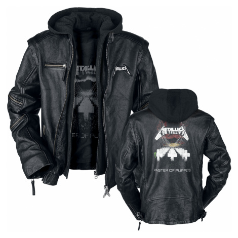 Metallica - Master Of Puppets - Leather jacket - black