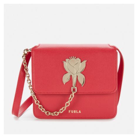 Furla Women's Tuberosa Mini Cross Body Bag - Ruby