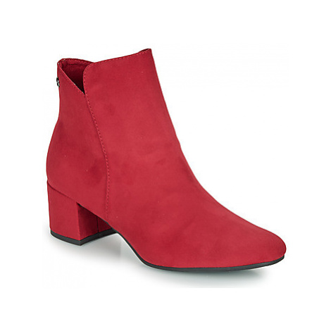 Tamaris CIKA women's Low Ankle Boots in Red