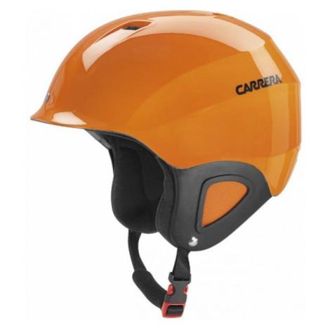 Carrera CJ-1 orange - Kids' ski helmet