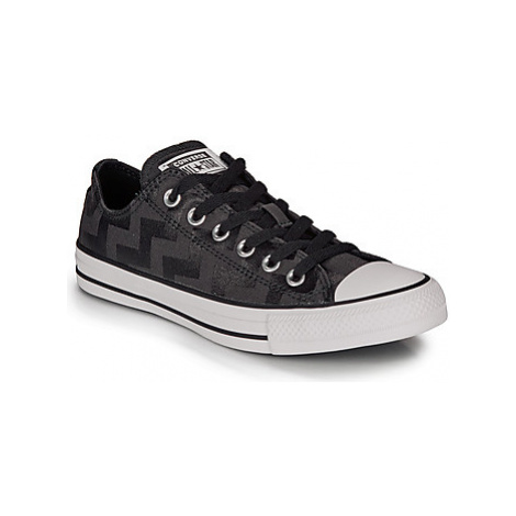 Converse CHUCK TAYLOR ALL STAR GLAM DUNK CANVAS OX women's Shoes (Trainers) in Black