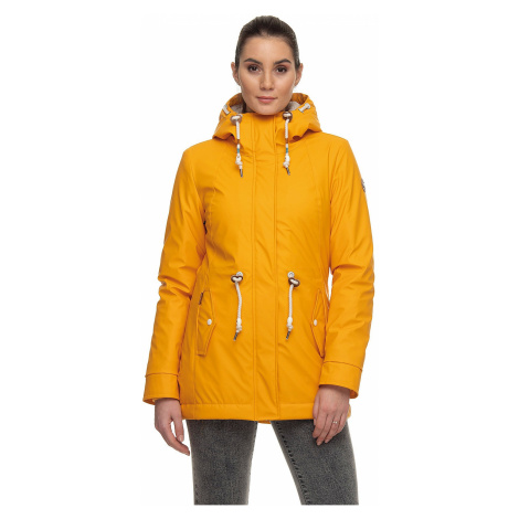 jacket Ragwear Monadis Rainy - 6028/Yellow - women´s