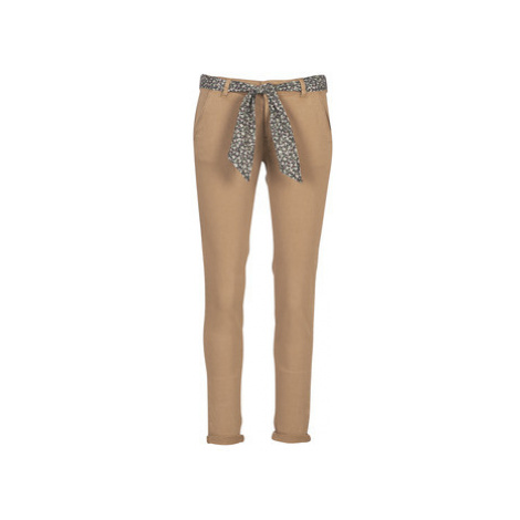 Brown women's casual trousers