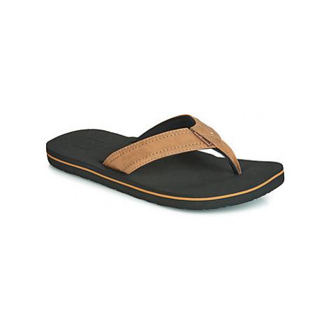 Rip Curl P-LOW men's Flip flops / Sandals (Shoes) in Brown