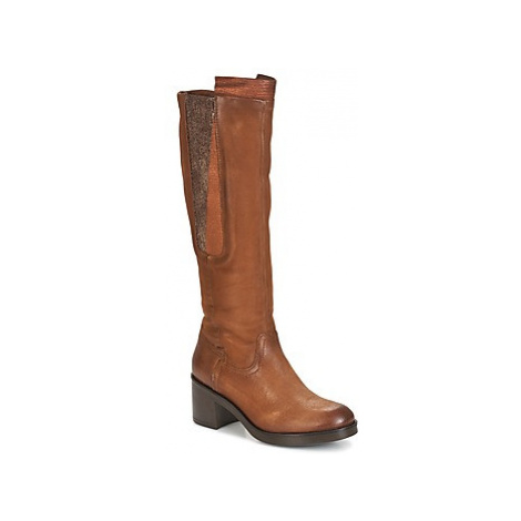 Dream in Green HUFRO women's High Boots in Brown