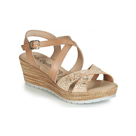 Lola Espeleta RIZA women's Sandals in Brown
