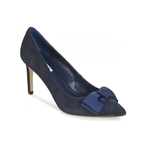 Dune London BOW women's Court Shoes in Blue