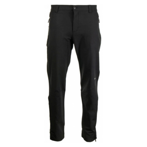ALPINE PRO QUABIL black - Men's softshell trousers