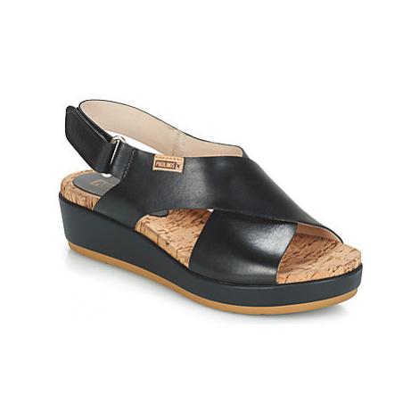 Pikolinos MYKONOS W1G women's Sandals in Black