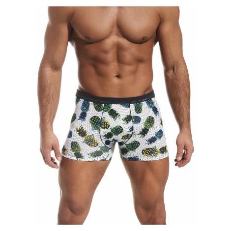 shorts Cornette Tattoo Pineapple - White