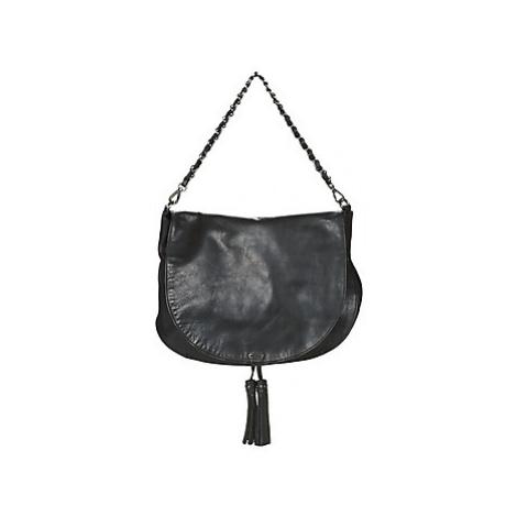 Ikks PLUMBER women's Shoulder Bag in Black