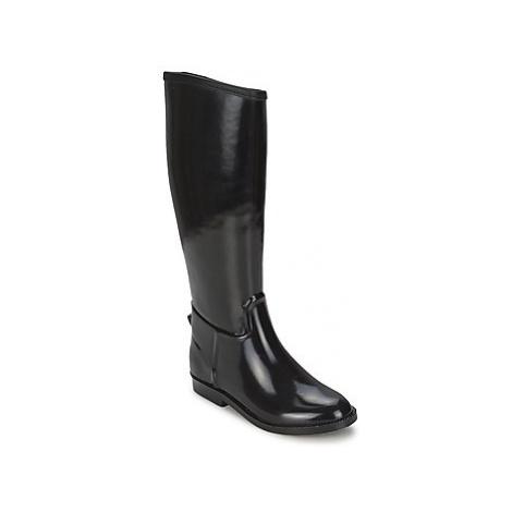 Be Only CAVALIERE NOIR women's Wellington Boots in Black