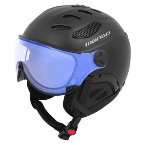 Mango CUSNA VIP black - Unisex ski helmet with a visor