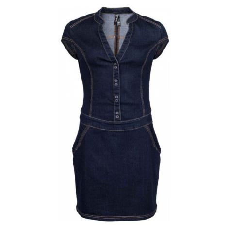 Willard WILOW dark blue - Women's denim dress