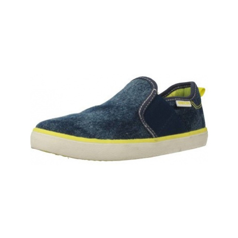 Geox J KILWI BOY boys's Children's Slip-ons (Shoes) in Blue