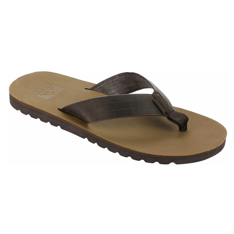 flip flops Reef Voyage LE - Dark Brown/Tan