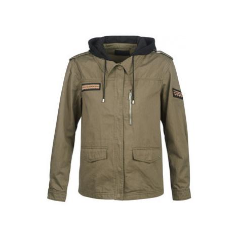 Green women's spring/autumn jackets