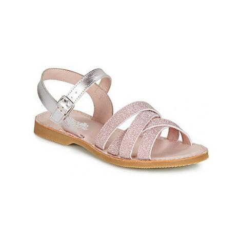 Citrouille et Compagnie JARDINA girls's Children's Sandals in Pink