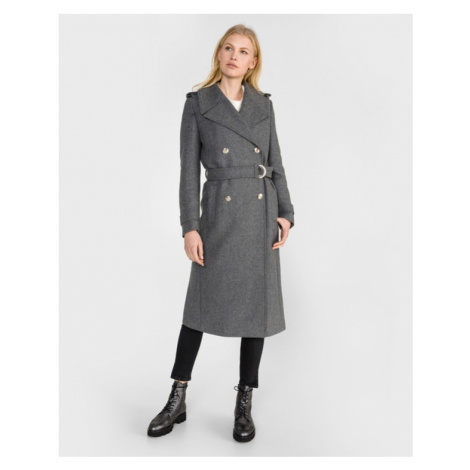 Tommy Hilfiger Belle Coat Grey