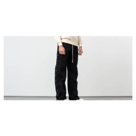 Rick Owens DRKSHDW Easy Pusher Pants Black