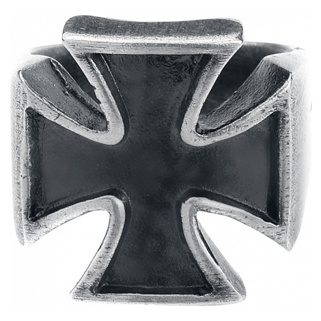 EtNox hard and heavy - Iron Cross - Ring - silver-coloured