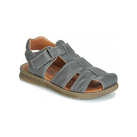 Citrouille et Compagnie JALOIDOU boys's Children's Sandals in Grey