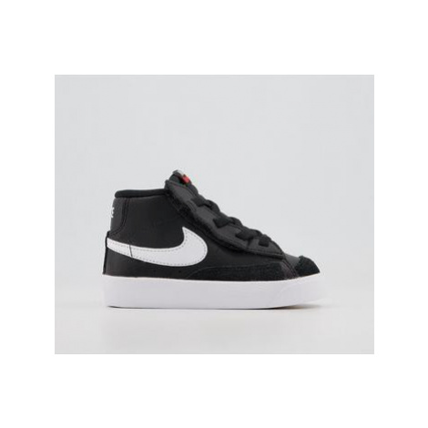 Nike Blazer Mid '77 Infant BLACK SAIL WHITE TOTAL ORANGE