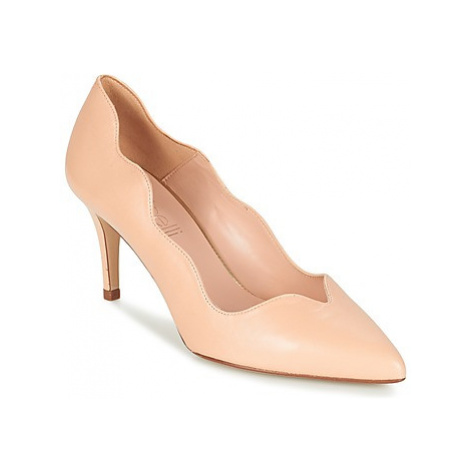 Fericelli GLORY women's Court Shoes in Beige