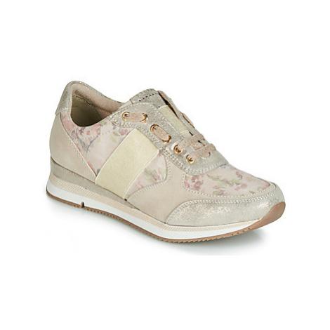 Marco Tozzi TROUDI women's Shoes (Trainers) in Beige