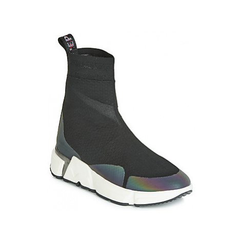 Replay FINDLAY women's Shoes (High-top Trainers) in Black