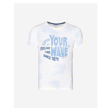 Pepe Jeans Bill Kids T-shirt White