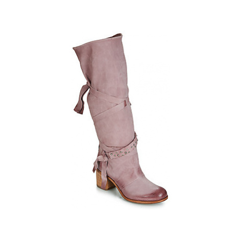 Airstep / A.S.98 BALTIMORA NEW women's High Boots in Pink