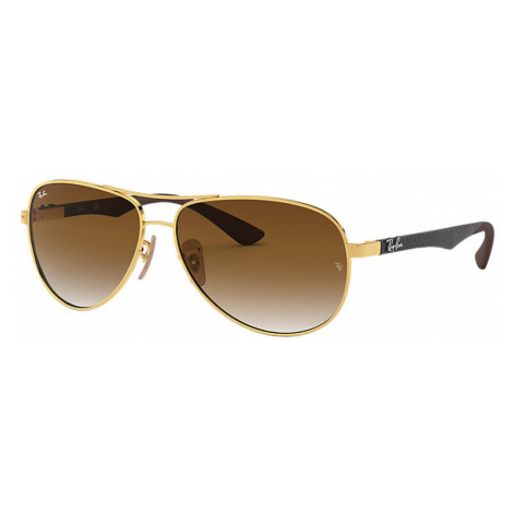 Ray-Ban Rb8313 Man Sunglasses Lenses: Brown, Frame: Grey - RB8313 001/51 58-13