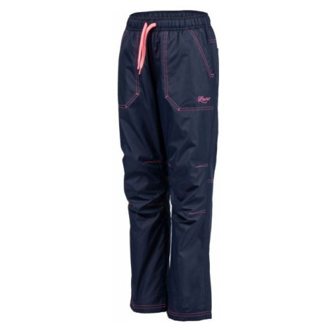 Lewro ZOWIE pink - Insulated kids' trousers