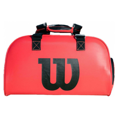 Wilson DUFFEL INFRAED SMALL red - Sports bag