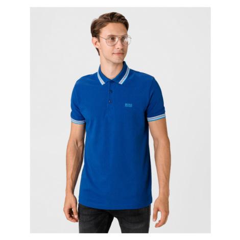 BOSS Paddy Polo Shirt Blue Hugo Boss