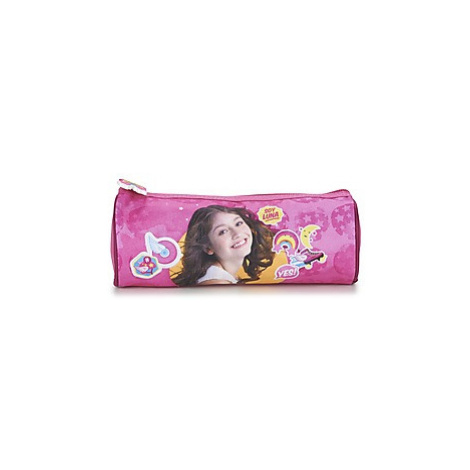 Disney SOY LUNA CARTABLE TROUSSE girls's Children's Cosmetic bag in Pink