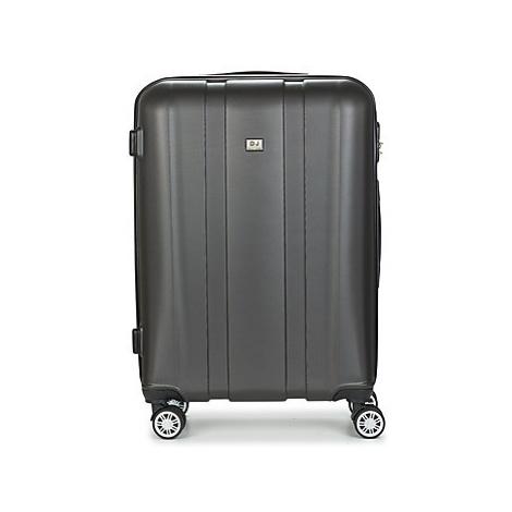 David Jones CHAUVETTO 72L men's Hard Suitcase in Grey