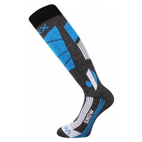 Voxx TRIFLEX grey - Men's ski knee high socks