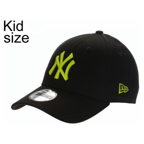 cap New Era 9FO League Essential MLB New York Yankees Child - Black/Cyber Green - kid´s