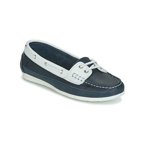 Casual Attitude JALAYIXE women's Boat Shoes in Blue