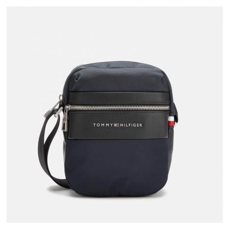 Tommy Hilfiger Men's Nylon Mix Mini Reporter Bag - Tommy Navy